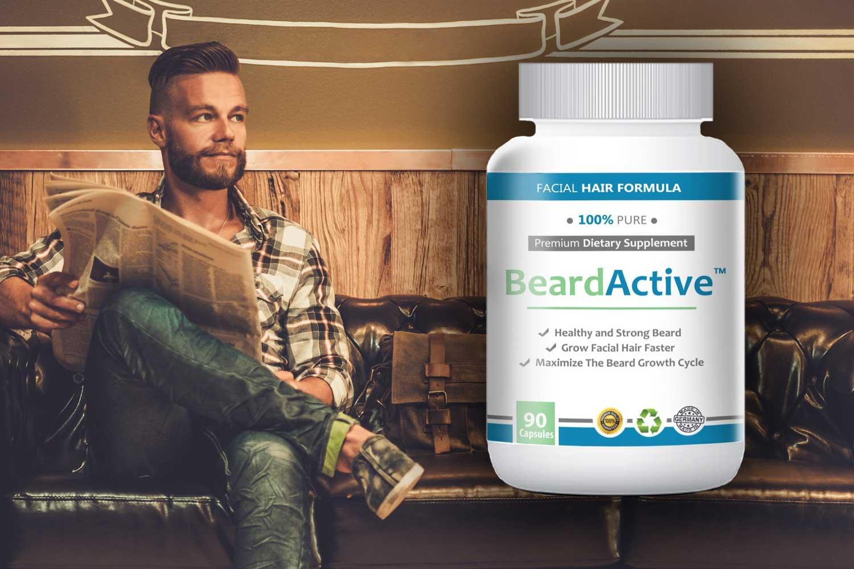 bartwuchs beschleunigung mit bartwuchsmittel beard active