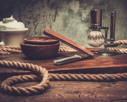 rasieren für mehr bart - Rasierequipment