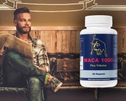 Bartwuchsmittel Maca 1000 für mehr Bartwuchs
